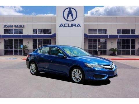 Catalina Blue Pearl 2017 Acura ILX