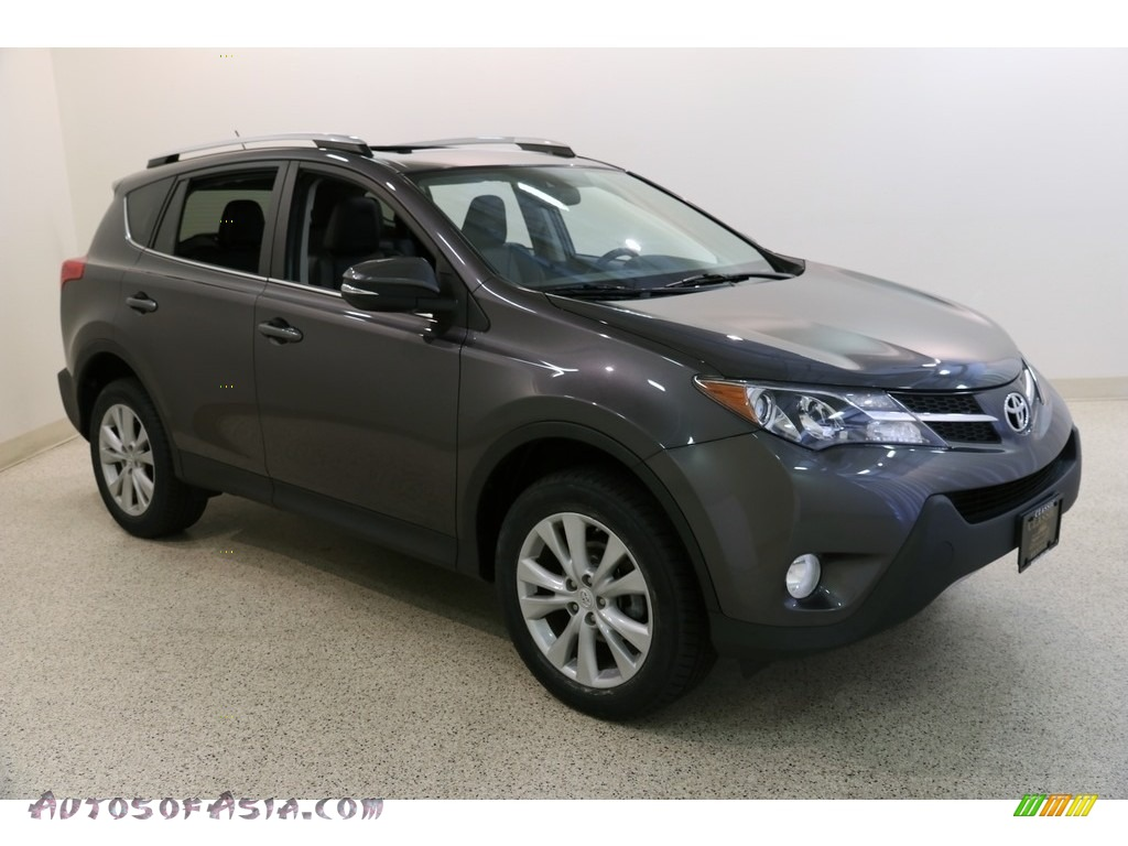 2013 RAV4 Limited AWD - Magnetic Gray Metallic / Black photo #1
