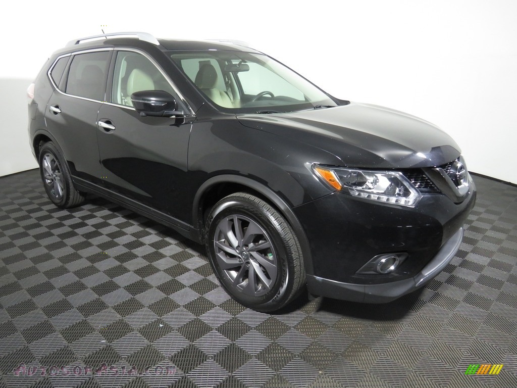 2016 Rogue SL - Magnetic Black / Charcoal photo #2