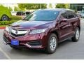 Acura RDX  Basque Red Pearl II photo #3