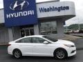 Hyundai Sonata SE Quartz White Pearl photo #2
