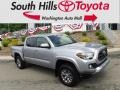 Toyota Tacoma SR5 Double Cab 4x4 Silver Sky Metallic photo #1