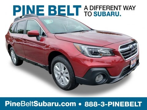 Crimson Red Pearl 2019 Subaru Outback 2.5i Premium