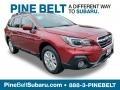 Subaru Outback 2.5i Premium Crimson Red Pearl photo #1