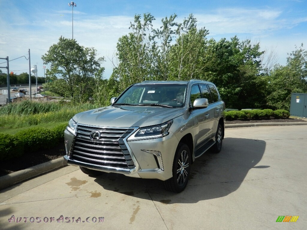 2019 LX 570 - Atomic Silver / Black photo #1