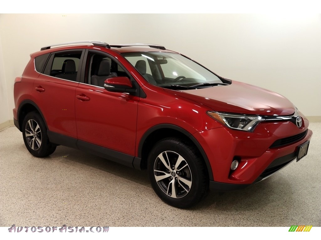 2016 RAV4 XLE AWD - Barcelona Red Metallic / Ash photo #1