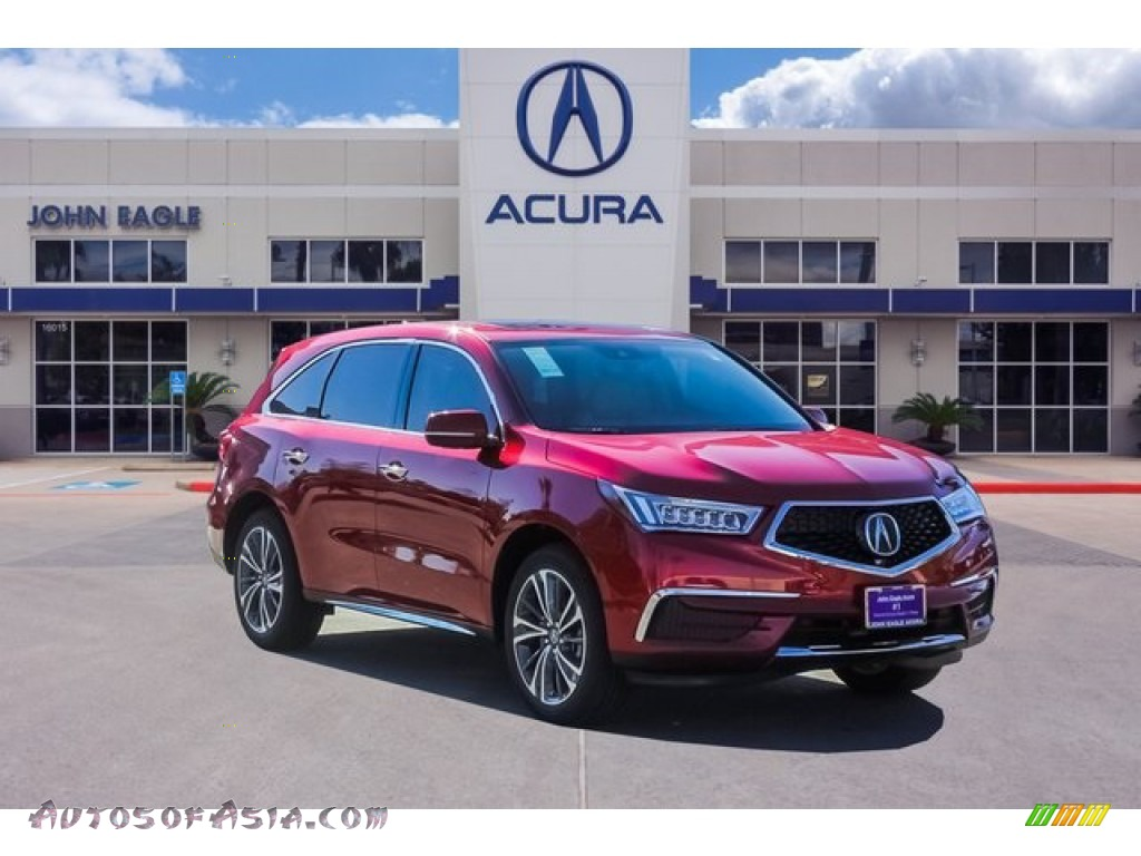 Performance Red Pearl / Parchment Acura MDX Technology