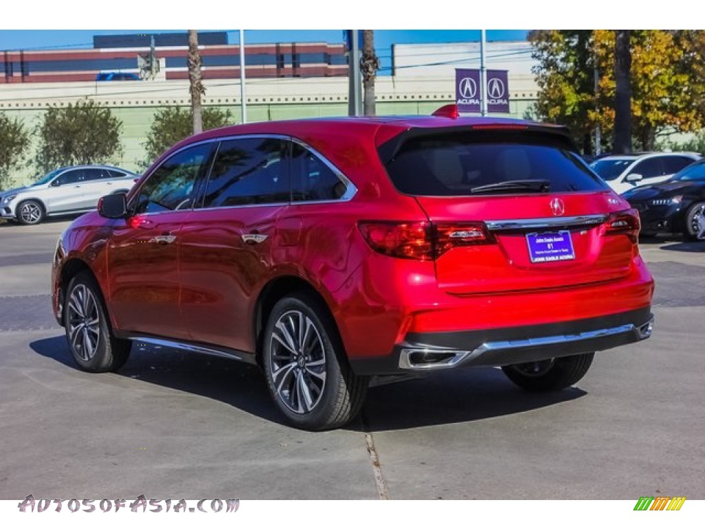 2019 MDX Technology - Performance Red Pearl / Parchment photo #5