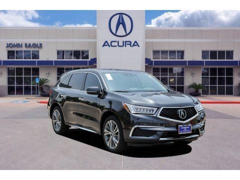 Gunmetal Metallic 2019 Acura MDX Technology SH-AWD