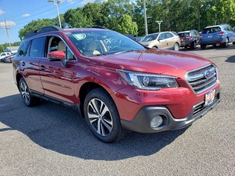 Crimson Red Pearl 2019 Subaru Outback 2.5i Limited
