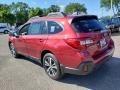 Subaru Outback 2.5i Limited Crimson Red Pearl photo #4