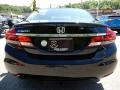 Honda Civic EX-L Sedan Crystal Black Pearl photo #4
