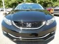 Honda Civic EX-L Sedan Crystal Black Pearl photo #8