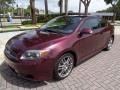 Scion tC  Black Cherry Pearl photo #1