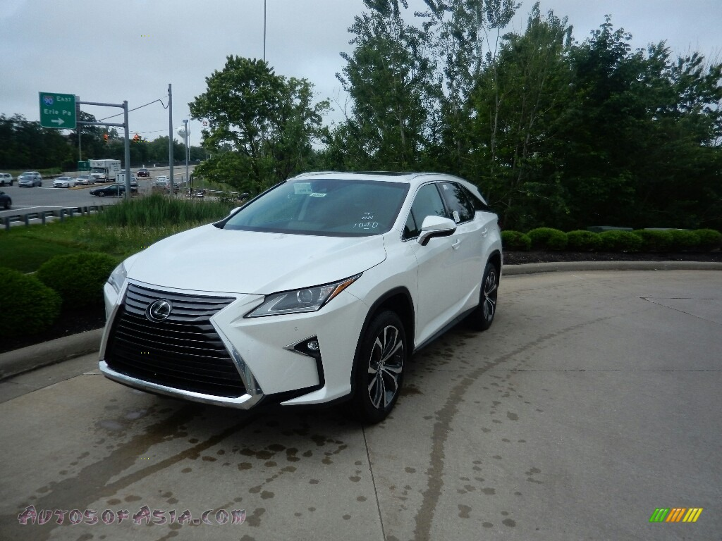 2019 RX 350L AWD - Eminent White Pearl / Noble Brown photo #1