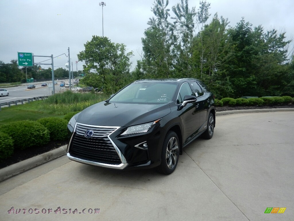 2019 RX 450hL AWD - Obsidian / Noble Brown photo #1