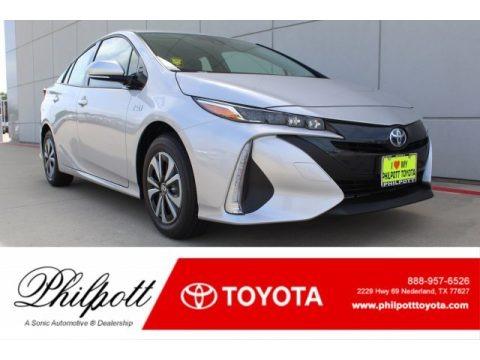 Classic Silver Metallic 2019 Toyota Prius Prime Plus