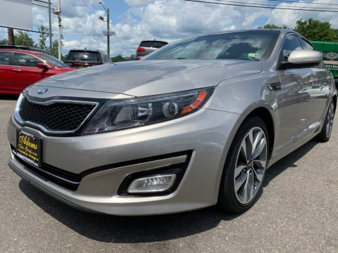 Satin Metal 2015 Kia Optima SX Turbo