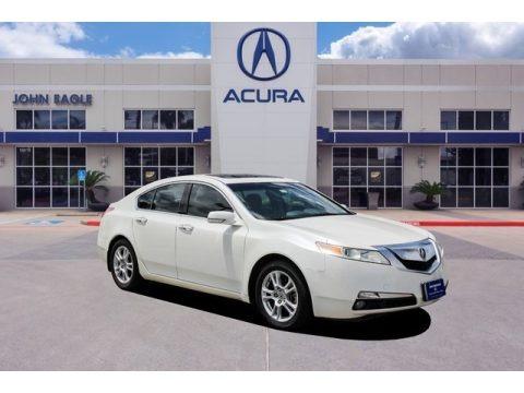 White Diamond Pearl 2009 Acura TL 3.5