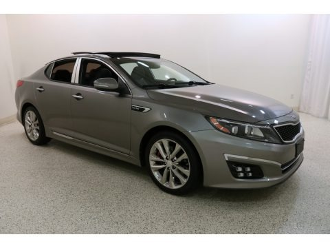 Titanium Metallic 2015 Kia Optima SXL Turbo