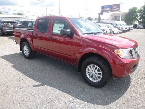 Cayenne Red 2019 Nissan Frontier SV Crew Cab 4x4