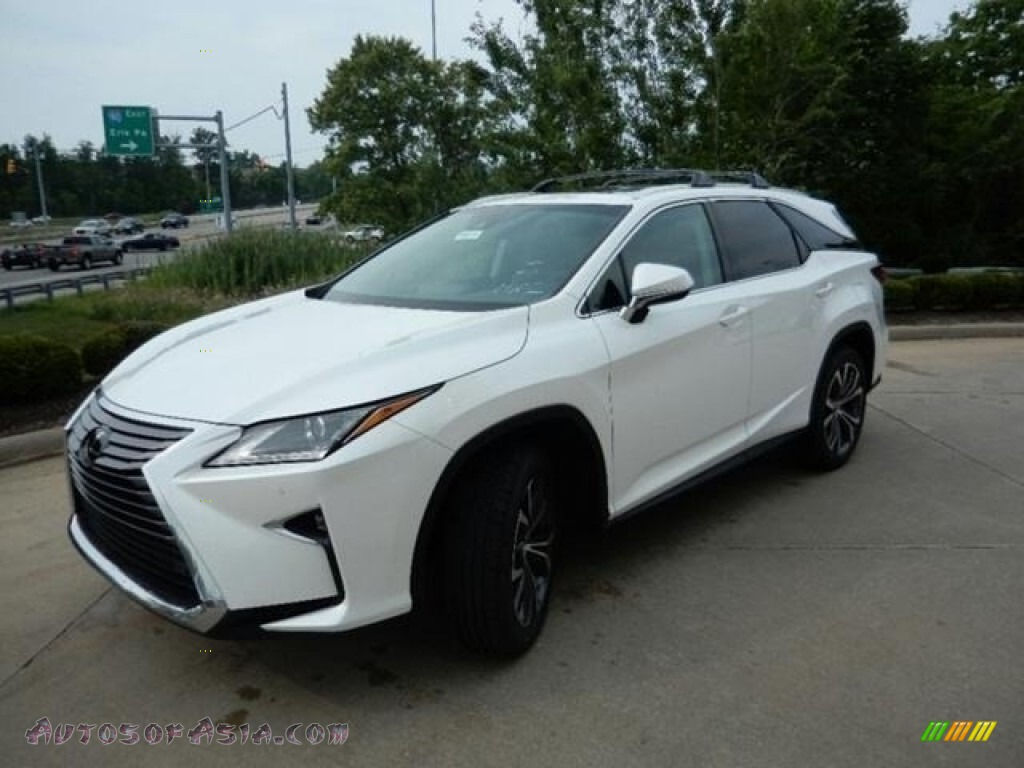 2019 RX 350L AWD - Eminent White Pearl / Parchment photo #1