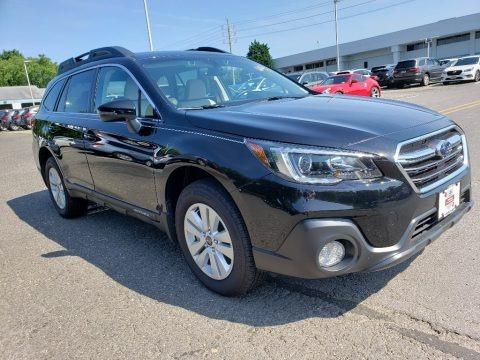 Crystal Black Silica 2019 Subaru Outback 2.5i Premium
