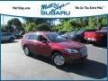 Subaru Outback 2.5i Venetian Red Pearl photo #1