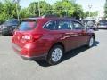 Subaru Outback 2.5i Venetian Red Pearl photo #6