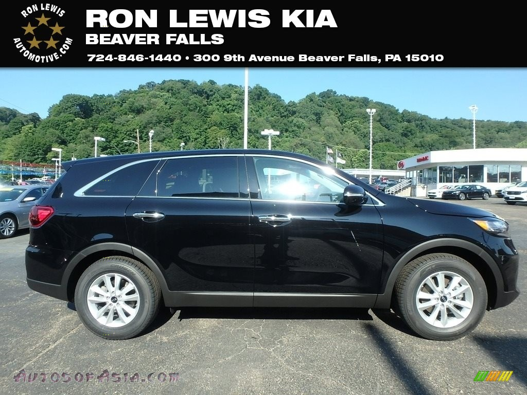 2019 Sorento L - Ebony Black / Satin Black photo #1