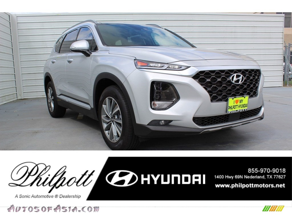 2019 Santa Fe Limited - Symphony Silver / Black photo #1