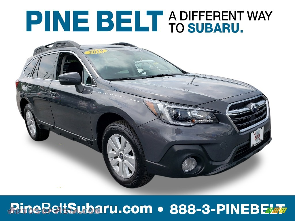 2019 Outback 2.5i Premium - Magnetite Gray Metallic / Slate Black photo #1
