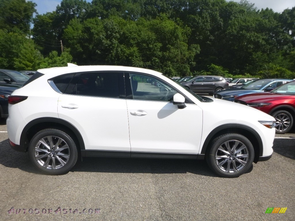 2019 CX-5 Grand Touring Reserve AWD - Snowflake White Pearl Mica / Black photo #1