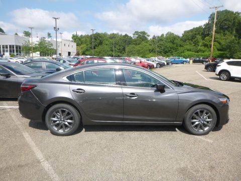 Machine Gray Metallic 2019 Mazda Mazda6 Sport