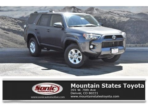 Magnetic Gray Metallic 2019 Toyota 4Runner SR5 Premium