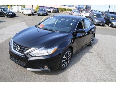 Super Black 2018 Nissan Altima 2.5 SV