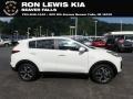 Kia Sportage LX AWD Clear White photo #1