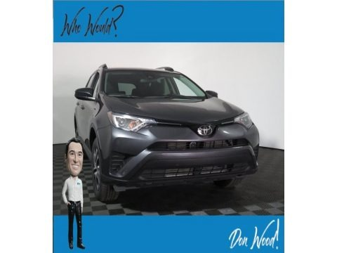 Magnetic Gray Metallic 2017 Toyota RAV4 LE AWD