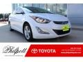 Hyundai Elantra Value Edition White photo #1