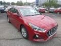 Hyundai Sonata SE Scarlet Red photo #3