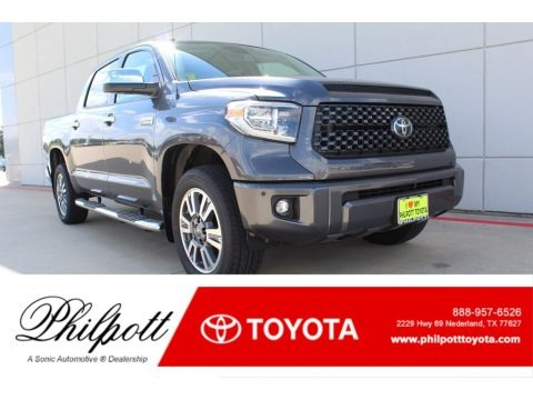 Magnetic Gray Metallic 2019 Toyota Tundra Platinum CrewMax 4x4