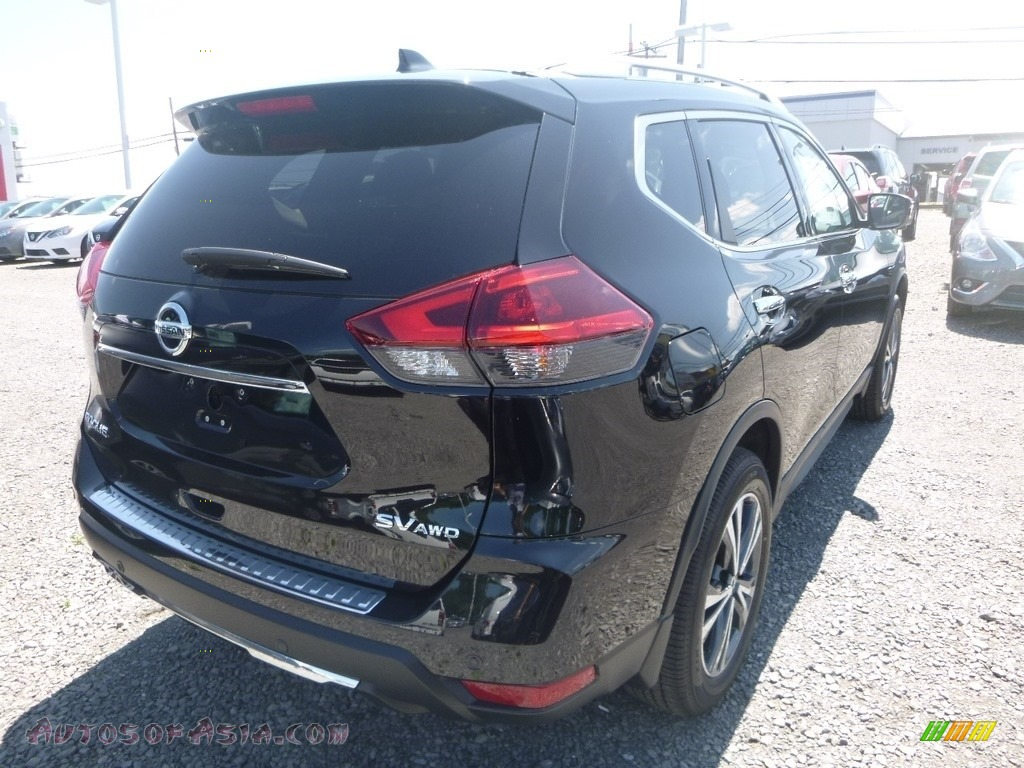 2019 Rogue SV AWD - Magnetic Black / Charcoal photo #4