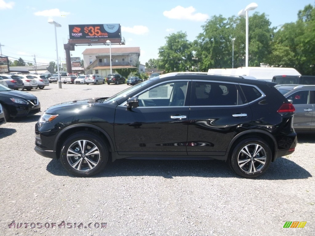 2019 Rogue SV AWD - Magnetic Black / Charcoal photo #7