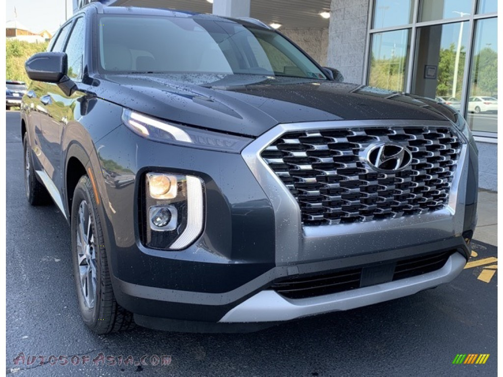2020 Palisade SEL AWD - Steel Graphite / Black/Gray photo #1