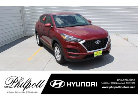 Gemstone Red 2019 Hyundai Tucson SE