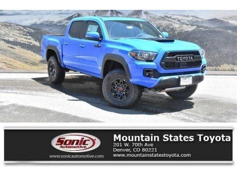 Voodoo Blue 2019 Toyota Tacoma TRD Pro Double Cab 4x4