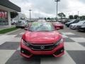 Honda Civic Si Coupe Rallye Red photo #2