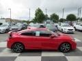 Honda Civic Si Coupe Rallye Red photo #3