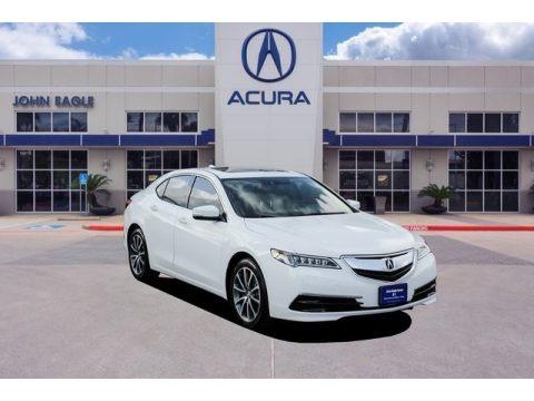Bellanova White Pearl 2017 Acura TLX V6 Technology Sedan
