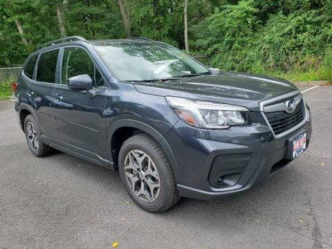 Dark Gray Metallic 2019 Subaru Forester 2.5i Premium